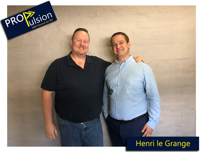 Ep. 11 – Building a partnership practice in a tied environment and valuable lessons from the Financial Planner of the Year Competition with Henri le Grange