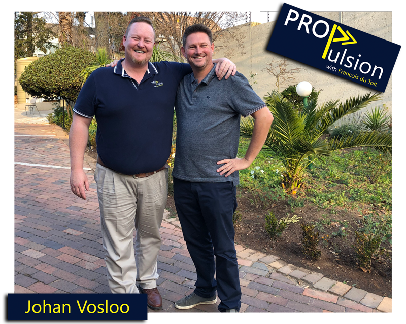 francois du toit and johan vosloo posing for a picture