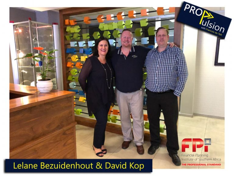 Ep. 17 – Taking Financial Planning into the Future with Lelane Bezuidenhout and David Kop