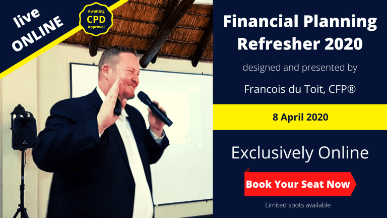 Financial Planning Refresher Live Online Event