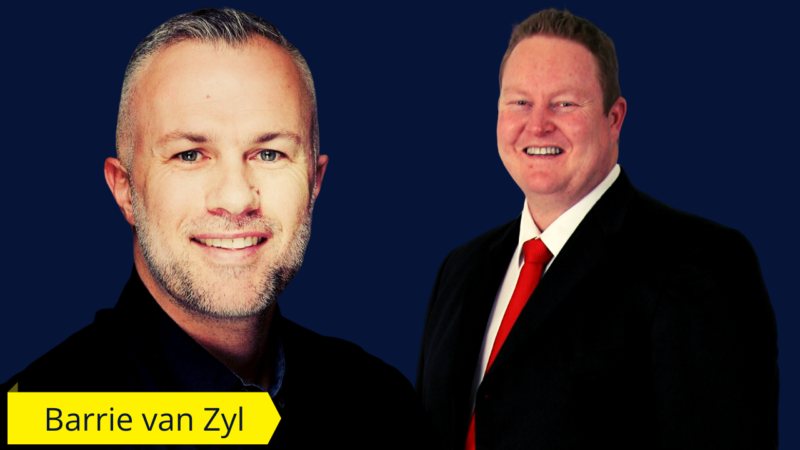 cover photo of barrie van zyl and francois du toit
