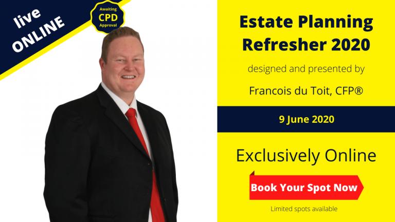 Estate Planning Refresher 2020
