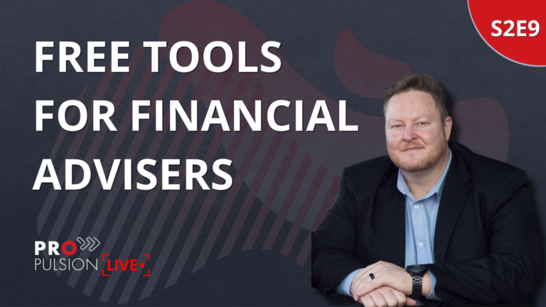 S2E9 – Free Tools for Financial Advisers