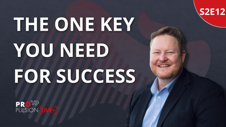 S2E12 – The one key you need for success